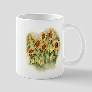 Field of Sunflower Mugs