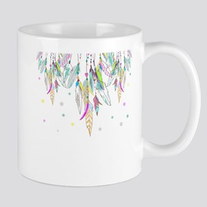 Dreamcatcher Feathers Mugs