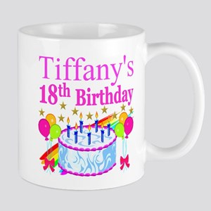 PERSONALIZED 18TH Mug