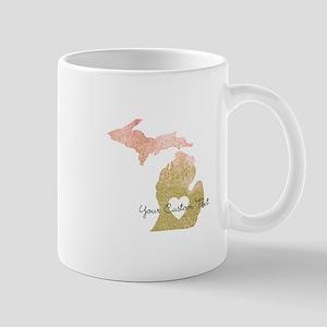 Personalized Michigan State Mugs