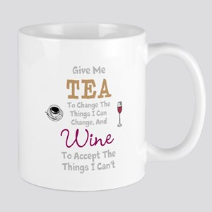 Tea and Wine Mugs