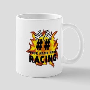 Flaming Racing Mugs
