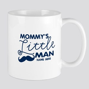 Custom Mommy's Little Man Mug