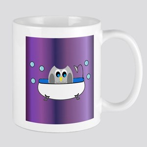 OWLSHOWERCURTAININTUB8 Mugs