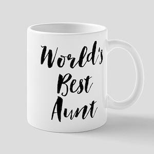 World's Best Aunt Mugs
