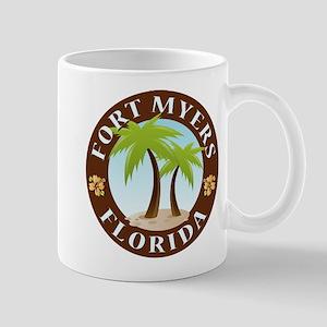 Fort Myers Palm Trees Mug