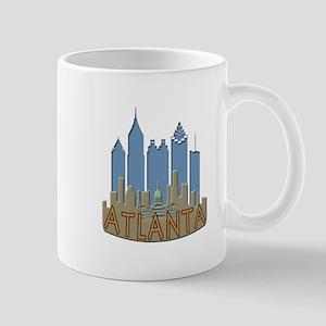 Atlanta Skyline Newwave Beachy Mug