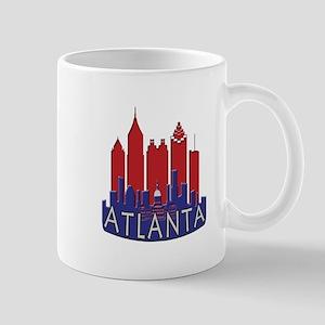 Atlanta Skyline Newwave Patriot Mug
