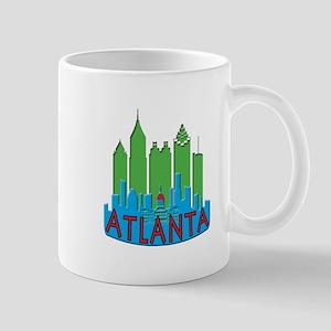 Atlanta Skyline Newwave Primary Mug