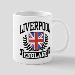 Liverpool England Mug