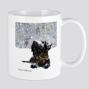 Scottish Terrier Christmas Mug