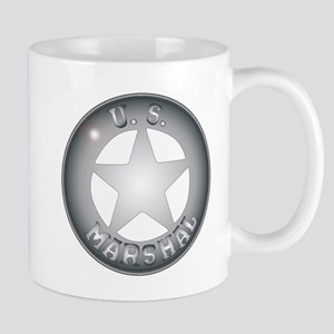 US Marshal Badge Mugs