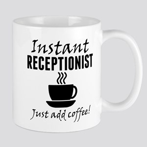 Instant Receptionist Just Add Coffee Mugs