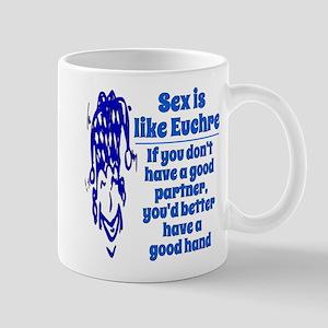 Sex is like Euchre Mug