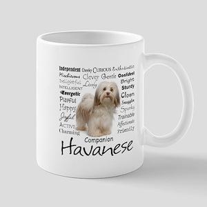Havanese Traits Travel Mugs