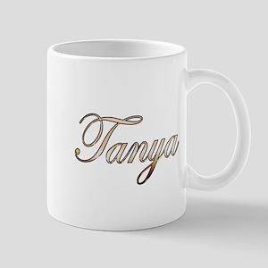 Gold Tanya Mug