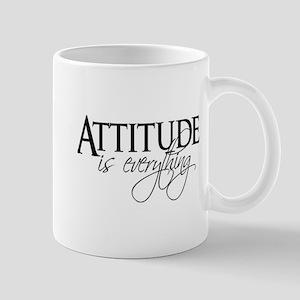 Attitude is everything Mugs