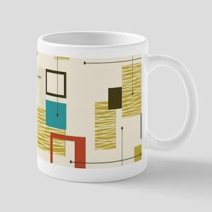 Fun Geometric, Mid Century Modern Mugs
