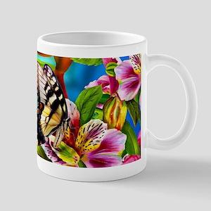 Beautiful Butterflies And Flowers Mugs