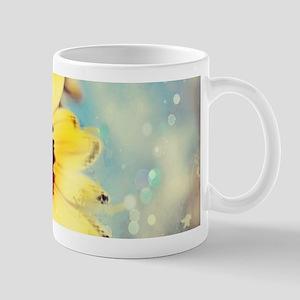 romantic summer watercolor sunflower Mugs