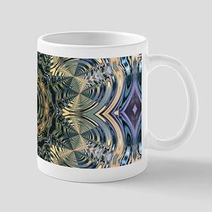 romantic floral purple mandala Mugs