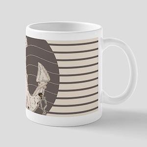 shabby chic anchor nautical stripes Mugs