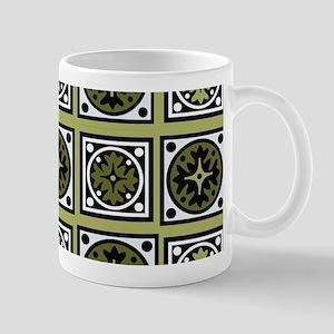 Retro Green Style Mugs