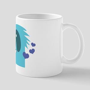 Aqua green monster Kawaii cute Mug