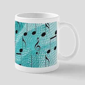 Music notes Mugs
