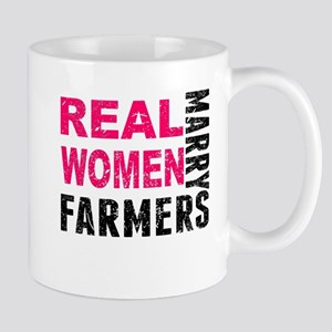 Real Women Marry Farmers Mugs