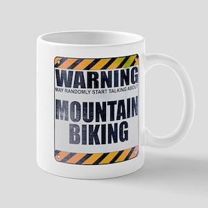 Warning: Mountain Biking Mug