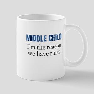 MIDDLE CHILD Mugs