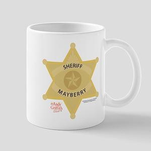 Sheriff Badge Mug