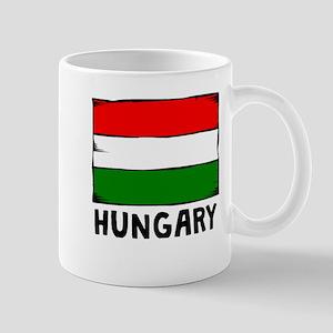 Hungary Flag Mugs
