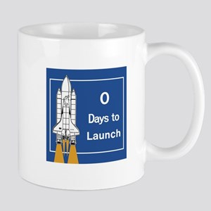 0 Days to Launch, Cape Canaveral, Flori Mug