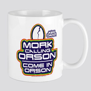 Mork and Mindy: Come In Orson Mug
