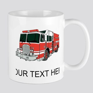Firetruck (Custom) Mugs