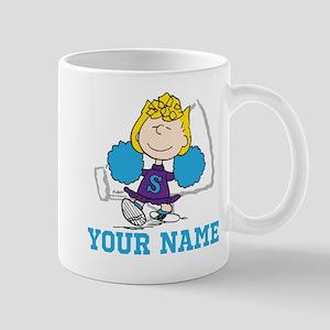 Snoopy Sally Cheer - Personalized Mug