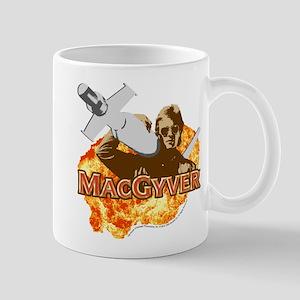 MacGyver In Action Mug