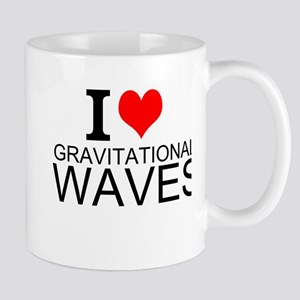 I Love Gravitational Waves Mugs