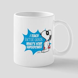 Snoopy Teacher - Personalized Mug