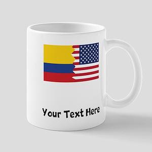 Colombian American Flag Mugs