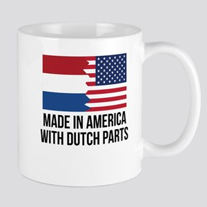 Made In America With Dutch Parts Mugs