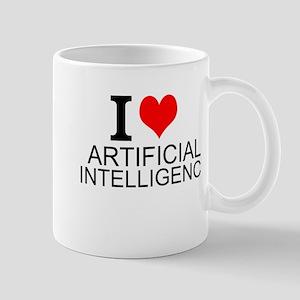 I Love Artificial Intelligence Mugs