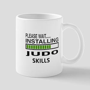 Please wait, Installing Judo Skills Mug