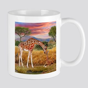 Tall Love From Above Mugs