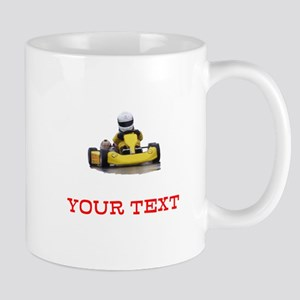 Customizable Yellow Kid Kart Mugs