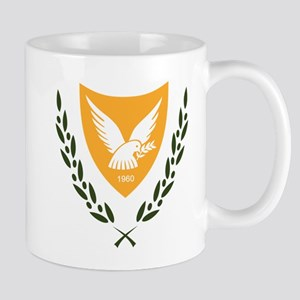Cyprus Coat Of Arms Mugs