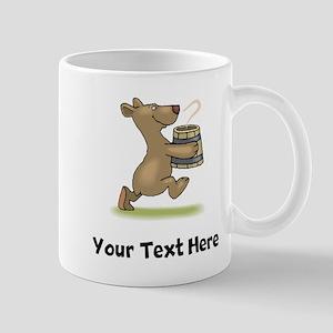 Bear With Soup (Custom) Mugs