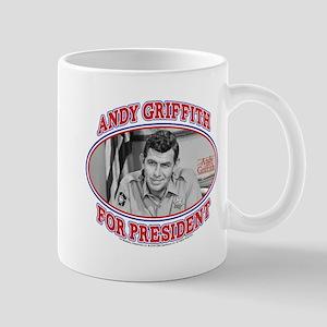 Andy Griffith for President Mug